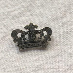 Mignon Faget Silver crown Charm